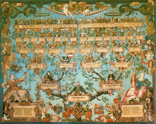 Vývod Ludvíka vévody Württemberského. Zdroj: Wikipedia